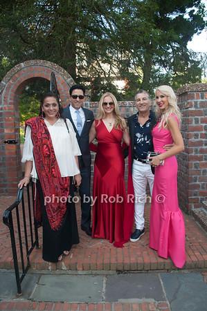 ?, Rafael Feldman, Consuelo Vanderbilt, Jerry Turco & Tracy Stern