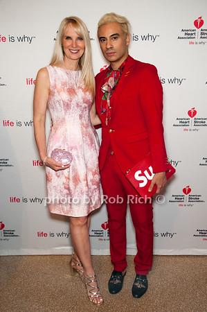 Sara Herbert-Galloway with Victor de Souza