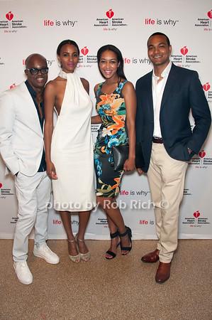 Merv & Jamela Matheson with Felicia Lutterodt & Darrel Isaac