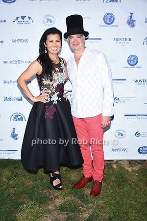 Asia Lee and Kevin Berlin attend the 28th.Annual SOFO Summer Gala at the South Fork Natural History Museum in Bridgehampton on Saturday, July 8, 2017. photos by Rob Rich/SocietyAllure.com ©2017 robrich101@gmail.com 516-676-3939