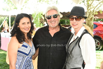 Jackie Cortes, Wally Zeins, and Alison Quartarolo attend the 28th.Annual SOFO Summer Gala at the South Fork Natural History Museum in Bridgehampton on Saturday, July 8, 2017. photos by Rob Rich/SocietyAllure.com ©2017 robrich101@gmail.com 516-676-3939