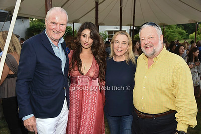 Jurgen Friedrich,  Zara Beard, Susan Rockefeller, and David Rockefeller attend the 28th.Annual SOFO Summer Gala at the South Fork Natural History Museum in Bridgehampton on Saturday, July 8, 2017. photos by Rob Rich/SocietyAllure.com ©2017 robrich101@gmail.com 516-676-3939