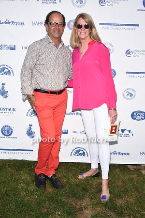 Michael Cinque and Amy Slack attend the 28th.Annual SOFO Summer Gala at the South Fork Natural History Museum in Bridgehampton on Saturday, July 8, 2017. photos by Rob Rich/SocietyAllure.com ©2017 robrich101@gmail.com 516-676-3939