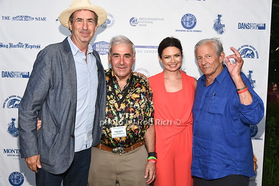 Eric Goode, Andy Sabin, Dr.Scarlett Magda, and photographer Peter Beard attend the 28th.Annual SOFO Summer Gala at the South Fork Natural History Museum in Bridgehampton on Saturday, July 8, 2017. photos by Rob Rich/SocietyAllure.com ©2017 robrich101@gmail.com 516-676-3939