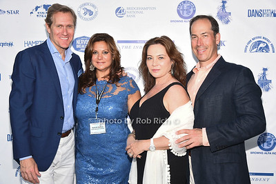 Scott Seltzer, Samitri Seltzer, Sabrina Levin, and Jahn Levin attend the 28th.Annual SOFO Summer Gala at the South Fork Natural History Museum in Bridgehampton on Saturday, July 8, 2017. photos by Rob Rich/SocietyAllure.com ©2017 robrich101@gmail.com 516-676-3939