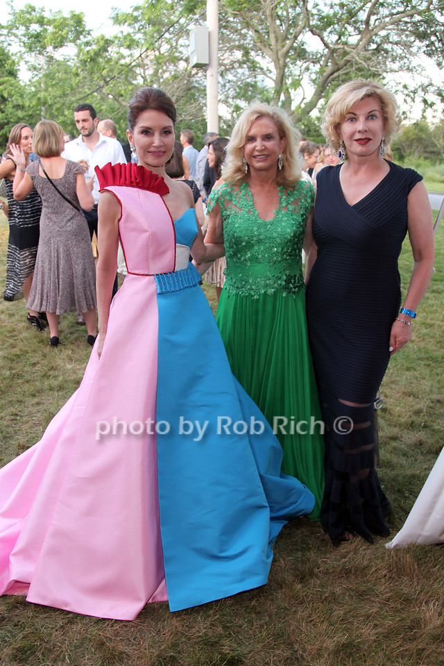 Jean Shafiroff, Carolyn Maloney and Paola Bacchini