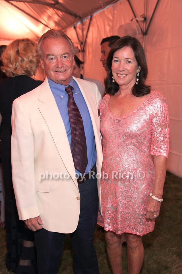 Mayor Michael Irving and Ellen Irving
