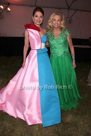Jean Shafiroff and Carolyn Maloney