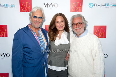 Ron Burkhardt, Brenda von Schweickhardt & Giancarlo Impiglia photo by D.Gonzalez for Rob Rich/SocietyAllure.com ©2017 robrich101@gmail.com 516-676-3939