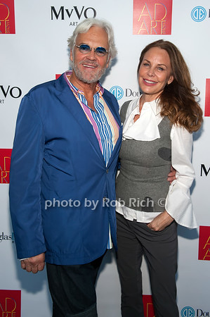 Ron Burkhardt & Brenda von Schweickhardt photo by D.Gonzalez for Rob Rich/SocietyAllure.com ©2017 robrich101@gmail.com 516-676-3939