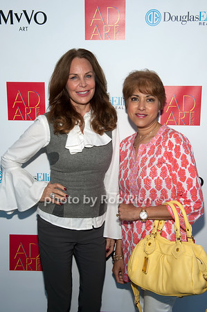 Brenda von Schweickhardt & Leila Pinto photo by D.Gonzalez for Rob Rich/SocietyAllure.com ©2017 robrich101@gmail.com 516-676-3939
