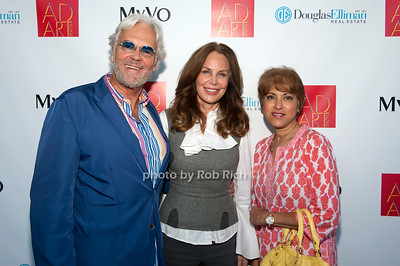 Ron Burkhardt, Brenda von Schweickhardt & Leila Pinto photo by D.Gonzalez for Rob Rich/SocietyAllure.com ©2017 robrich101@gmail.com 516-676-3939