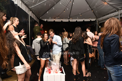 The outdoor deck at AM niteclub in Southampton on May 27, 2017  photo by Rob Rich/SocietyAllure.com ©2017 robrich101@gmail.com 516-676-3939