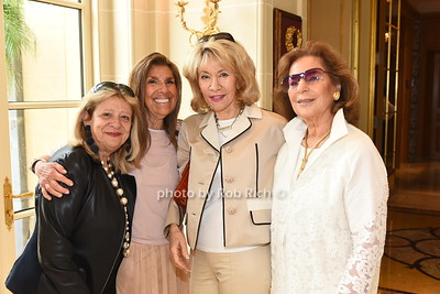Mimi Perlman, Carolyn Gero, Lonnie Kalnick, and Marion Waxman attend the American Friends of the Open University of Israel Luncheon & Fashion extravaganza  at the Hamptons' residence of Ingeborg  and Ira Leon Rennert on Friday, July 7, 2017. photo by Rob Rich/SocietyAllure.com ©2017 robrich101@gmail.com 516-676-3939
