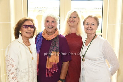 Marion Waxman, Paula Cohen, Jessica Mackin, and Erica Linden-Fineberg attend the American Friends of the Open University of Israel Luncheon & Fashion extravaganza  at the Hamptons' residence of Ingeborg  and Ira Leon Rennert on Friday, July 7, 2017. photo by Rob Rich/SocietyAllure.com ©2017 robrich101@gmail.com 516-676-3939