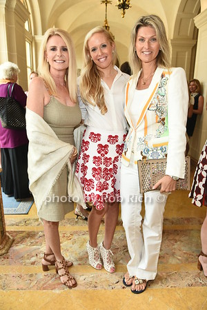Judy Siboni, Lisa Klein, and Pernilla Avital attend the American Friends of the Open University of Israel Luncheon & Fashion extravaganza  at the Hamptons' residence of Ingeborg  and Ira Leon Rennert on Friday, July 7, 2017. photo by Rob Rich/SocietyAllure.com ©2017 robrich101@gmail.com 516-676-3939