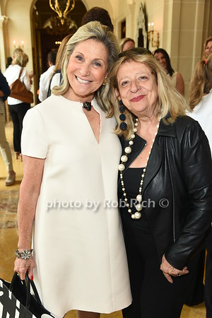 Ronnie Heyman and Mimi Perlman attend the American Friends of the Open University of Israel Luncheon & Fashion extravaganza  at the Hamptons' residence of Ingeborg  and Ira Leon Rennert on Friday, July 7, 2017. photo by Rob Rich/SocietyAllure.com ©2017 robrich101@gmail.com 516-676-3939