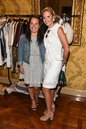 Samantha Yanks and Kim Heyman attend the American Friends of the Open University of Israel Luncheon & Fashion extravaganza  at the Hamptons' residence of Ingeborg  and Ira Leon Rennert on Friday, July 7, 2017. photo by Rob Rich/SocietyAllure.com ©2017 robrich101@gmail.com 516-676-3939