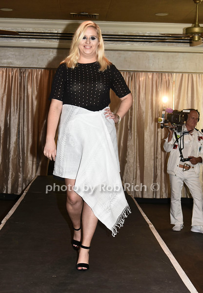 Jessica Mackin walks the runway at  the Catwalk for Canines ethical & eco fashion show to benefit the Southampton Animal foundation at the Southampton Social Club in Southampton on Saturday, June 10, 2017.
