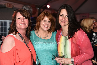 Tricia Myers, Maureen Mitchelll, Leicia Savinetti attend Dan's Rose' Soiree at the Southampton Arts Center in Southampon on May 28, 2017.