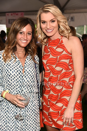 Sara Billlstein and Lindsay Hubbard attend Dan's Rose' Soiree at the Southampton Arts Center in Southampon on May 28, 2017.