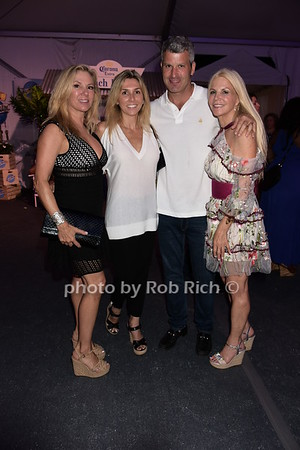 Ramona Singer, Nicole Garone, Zach Tunick, Nancy Pearson photo by Rob Rich/SocietyAllure.com ©2017 robrich101@gmail.com 516-676-3939