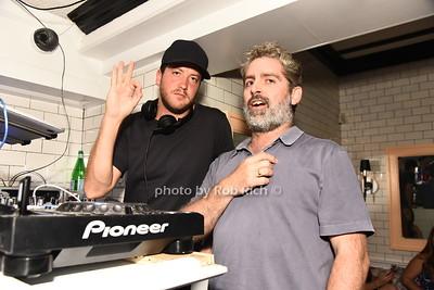 DJ Nick Cohen, guest photo by Rob Rich/SocietyAllure.com ©2017 robrich101@gmail.com 516-676-3939