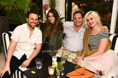 Andrew Molen, Kelsey, guests photo by Rob Rich/SocietyAllure.com ©2017 robrich101@gmail.com 516-676-3939