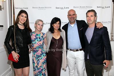 Tayler Bradford, Lili Sarnyai, Sharyn Bradford, Glenn Bradford, Justin Mitchell
