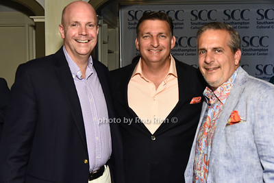 Stan Blinka, Mayor Mark Epley, and Greg D'Elia attend the Southampton Cultural Society's annual gala at the Social Club in Southampton on Sunday, June 4, 2017.   photo  by Rob Rich/SocietyAllure.com ©2017 robrich101@gmail.com 516-676-3939