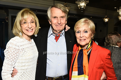 Vicky Kahn, Jim McFarlane, and Erica McFarlane attend the Southampton Cultural Society's annual gala at the Social Club in Southampton on Sunday, June 4, 2017.   photo  by Rob Rich/SocietyAllure.com ©2017 robrich101@gmail.com 516-676-3939
