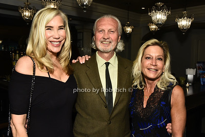 Jeanine Eddington, Frank Fiorvaliso, and Sandy Bush attend the Southampton Cultural Society's annual gala at the Social Club in Southampton on Sunday, June 4, 2017.   photo  by Rob Rich/SocietyAllure.com ©2017 robrich101@gmail.com 516-676-3939