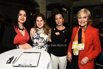 Cynthia Miranda, Sarah Morita, Mirabelle Ramos, and Erica McFarlane attend the Southampton Cultural Society's annual gala at the Social Club in Southampton on Sunday, June 4, 2017.   photo  by Rob Rich/SocietyAllure.com ©2017 robrich101@gmail.com 516-676-3939