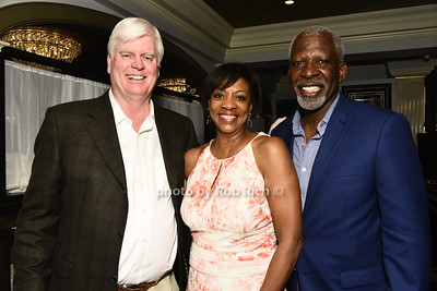 Sean Deneny, Sarah Lopez, and  Dan Gasby attend the Southampton Cultural Society's annual gala at the Social Club in Southampton on Sunday, June 4, 2017.   photo  by Rob Rich/SocietyAllure.com ©2017 robrich101@gmail.com 516-676-3939