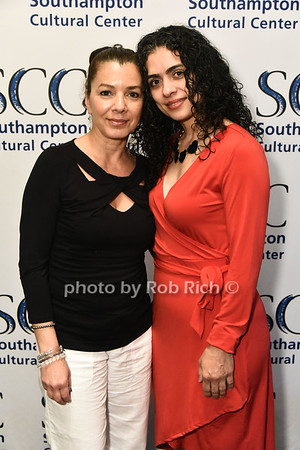 Mirabelle Ramos and Cynthia Miranda  attend the Southampton Cultural Society's annual gala at the Social Club in Southampton on Sunday, June 4, 2017.   photo  by Rob Rich/SocietyAllure.com ©2017 robrich101@gmail.com 516-676-3939