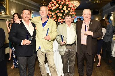 Honorees Mark Epley, Paton Miller, Tom Clavin, and Philip Keith (not pictured Dan Gasby) were honored at  the Southampon Cultural Society's annual gala at the Social Club in Southampton on Sunday, June 4, 2017.   photo  by Rob Rich/SocietyAllure.com ©2017 robrich101@gmail.com 516-676-3939