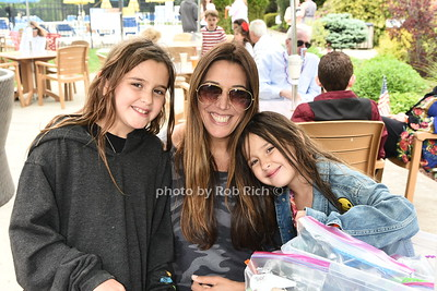 Melissa Rand, Brooke Rand , and  Skylar Rand  attend the Southampton Inn's annual Memorial Day party in Southampton on May 28, 2017.