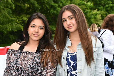 Daniella Peebles and Chloe Peebles attend the Southampton Inn's annual Memorial Day party in Southampton on May 28, 2017.