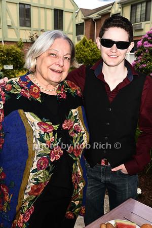 Joan Roberts,  Shane Moan photo by Rob Rich/SocietyAllure.com ©2017 robrich101@gmail.com 516-676-3939