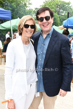 Sue McCuddy and Bill McCuddy attend the Southampton Inn's annual Memorial Day party in Southampton on May 28, 2017.
