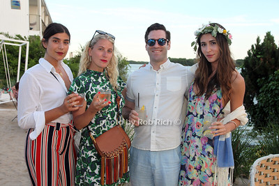 Kamaryn Potter, Chloe Robbins, Jeremy Alouk, Steph Malovc photo by R.Cole for Rob Rich/SocietyAllure.com ©2017 robrich101@gmail.com 516-676-3939