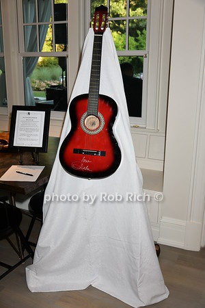 Autographed guitar by Reba McEntire