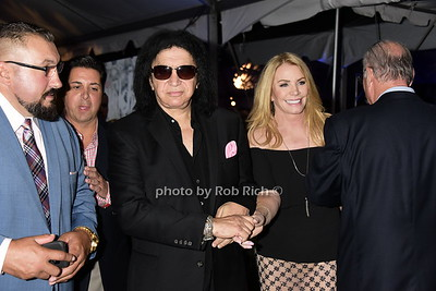 Gene Simmons and wife Shannon Tweed  photo  by Rob Rich/SocietyAllure.com ©2017 robrich101@gmail.com 516-676-3939