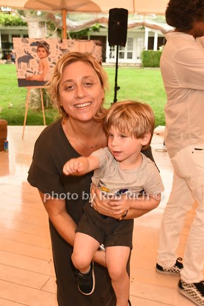 Lisette Sand Friedman and son Dylan Zeifman