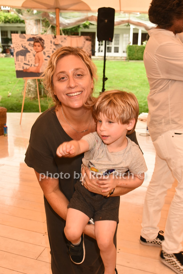 Lisette Sand Friedman and son Dylan Zeifman