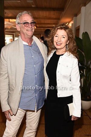 Robbie Stein and April Gornik attend the benefit for the Sag Harbor Cinema sponsored by the Sag Harbor Patrnership at Bibloquet Restaurant in Sag Harbor on Friday, June 16, 2017, photo by Rob Rich/SocietyAllure.com ©2017 robrich101@gmail.com 516-676-3939