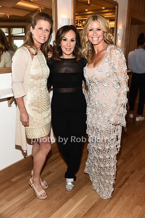 Alex Lerneer, Rosanna Scotto, and Jill Martin attend the benefit for the Sag Harbor Cinema sponsored by the Sag Harbor Patrnership at Bibloquet Restaurant in Sag Harbor on Friday, June 16, 2017, photo by Rob Rich/SocietyAllure.com ©2017 robrich101@gmail.com 516-676-3939