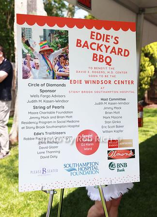 Edie's Backyard Barbecue