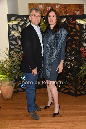 Pamela Morgan & Michael Trokel Dinner party