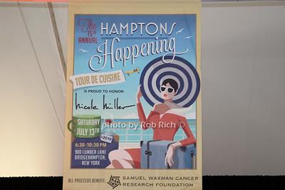 15th. Annual Hamptons Happening